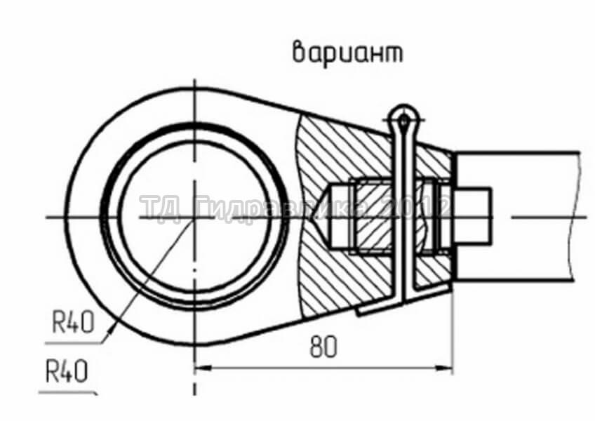 Гидроцилиндры к другой спецтехнике и по чертежам заказчиков